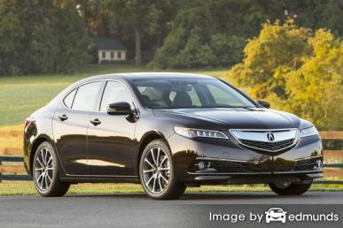Insurance rates Acura TLX in Austin