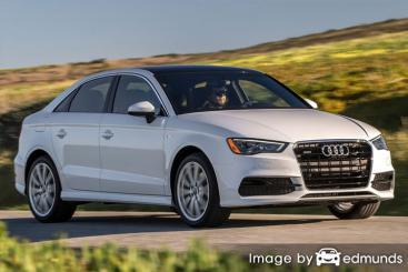 Insurance quote for Audi A3 in Austin