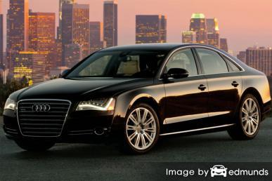 Insurance quote for Audi A8 in Austin