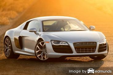 Insurance quote for Audi R8 in Austin