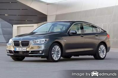 Insurance rates BMW 535i in Austin