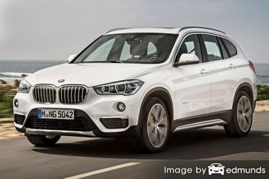 Insurance rates BMW X1 in Austin