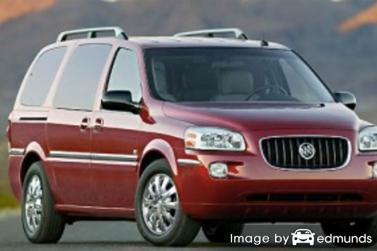 Insurance rates Buick Terraza in Austin