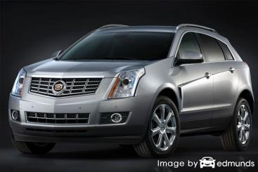 Insurance rates Cadillac SRX in Austin