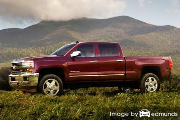 Insurance quote for Chevy Silverado 2500HD in Austin