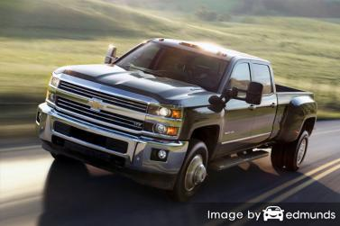 Discount Chevy Silverado 3500HD insurance