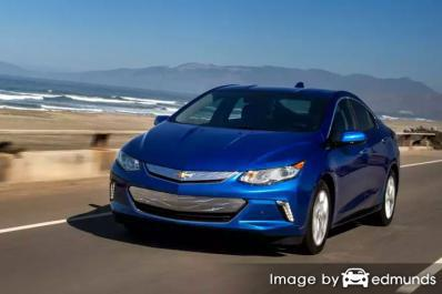 Insurance rates Chevy Volt in Austin
