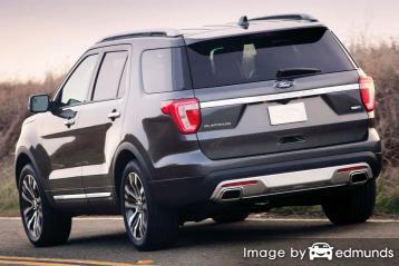 Insurance rates Ford Explorer in Austin