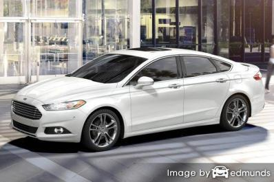 Insurance for Ford Fusion