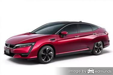 Insurance quote for Honda Clarity in Austin