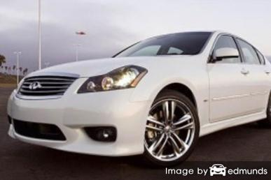 Insurance quote for Infiniti M45 in Austin