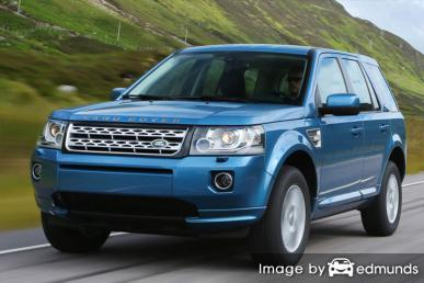 Insurance rates Land Rover LR2 in Austin
