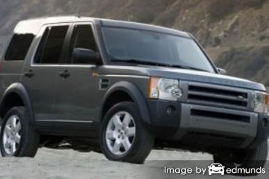 Discount Land Rover LR3 insurance