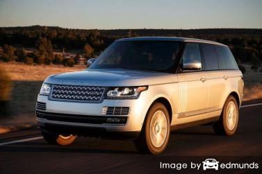 Insurance rates Land Rover Range Rover in Austin