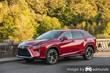 Insurance quote for Lexus RX 450h in Austin