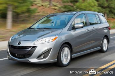 Insurance quote for Mazda 5 in Austin