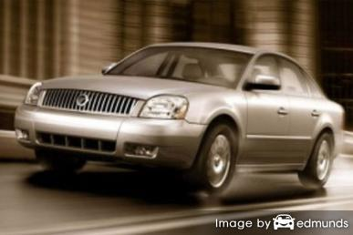 Insurance for Mercury Montego