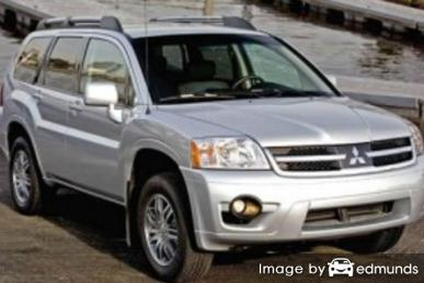 Insurance quote for Mitsubishi Endeavor in Austin