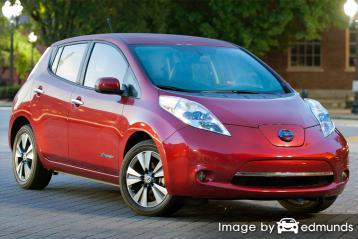 Insurance rates Nissan Leaf in Austin