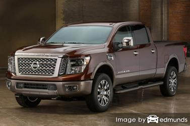 Discount Nissan Titan insurance