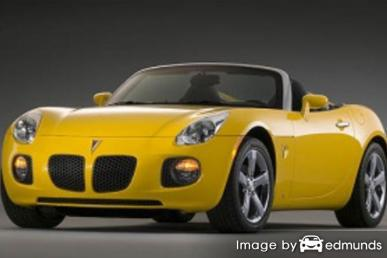 Insurance quote for Pontiac Solstice in Austin
