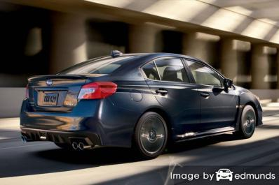 Insurance quote for Subaru WRX in Austin