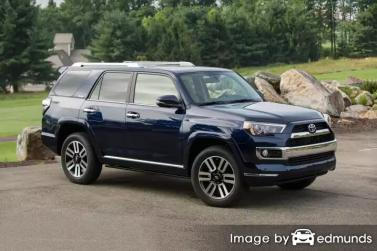 Insurance quote for Toyota 4Runner in Austin