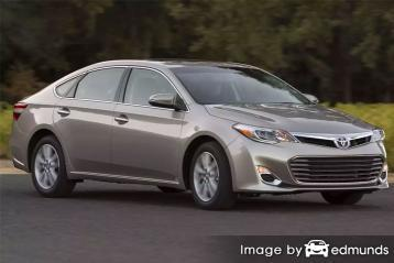 Insurance quote for Toyota Avalon in Austin