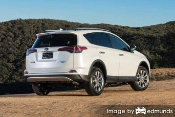 Insurance quote for Toyota Rav4 in Austin
